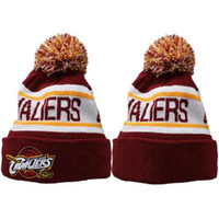 Wholesale Cavaliers Basketball Beanies Cheap Knitted Hats Skullcaps for Men Women Casual Outdoor Hats Top Quality Caps Hot Winter Beanies Warm Hats