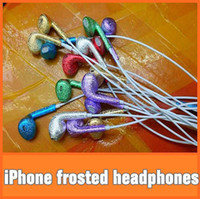 Wholesale The new iPhone MM frosted headset can answer the call to adjust the volume