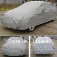 Wholesale 4 m m m m Universal anti uv rain snow resistant waterproof outdoor full car cover Universal sewing