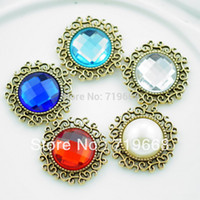 Quilt Accessories Buttons Yes Free Shipping!100pcs (LO-042 20MM)9colors rhinestone button Diamante for Hair Flower Wedding Invitation Scrapbooking Napkin Ring