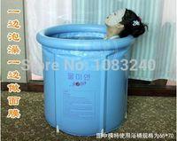 inflatable bathtub for adults - inflatable plastic bathtub adult bath tub adults spa steam sauna for perfume mugwort herbal NO outside mat bag cover