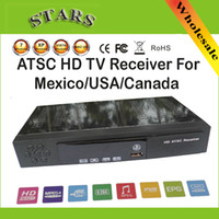 Included Sun-Stars Envelop New HD PVR Digital MPG4 H.264 ATSC TV Tuner 1080P Chinese TV Box Receiver support USB HDMI for Mexico USA Canada,Free Shipping