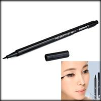 10009780 na NA by DHL or EMS 1000 pieces Waterproof Super Slim 0.1mm Black Liquid Eyeliner Pen Long-Lasting 24 Hours eyeliner pen
