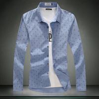 Wholesale 2014 Fall linen shirt male taxi fertilizer XL shirt loose cotton long sleeved shirt Korean version of the influx of men
