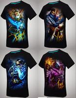 Wholesale Factory SALE men s clothing fashion man t shirts cotton tshirt men high quality D t shirt double printed tees