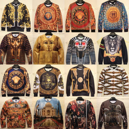 Wholesale 2014 New Women Men Egyptians face religion print Pullovers d sweatshirts Cosmic Star Hoodies jacket Space galaxy sweaters tops