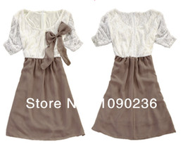 Wholesale Free shippng New Arrival chiffon Maternity Clothes Cotton Dress for the Pregnant Females Short Sleeve lace clothing