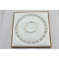 Wholesale Gorgeous Popular Bracelet and Necklace Sets Pearl Necklace Set Pearl Jewelry Set Nice Outlook