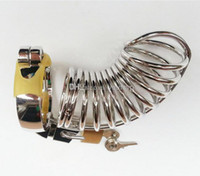 New arrival Chastity Device with ring Male Cage Chastity Dev...
