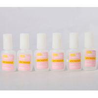 Wholesale 6pcs Tips Nail Art g BYB NAIL GLUE with brush For False French