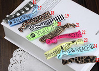 Wholesale China Hair Tie Leopard Skull Letters Elastic Cloth Knotted Rubber Band Hair Accessories Hair Ring Hair Rope Tie