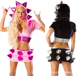 Wholesale Cosplay Uniforms Scary costumes The new Halloween party role playing uniforms hedgehog scratchy clothing
