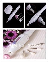 Forets en métal en Ligne-Professionnel Acrylique électrique Nail Drill Fichier Buffer Bits Nail Art manucure Kits