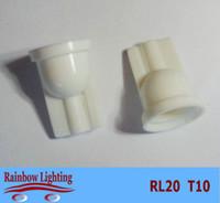 base license - T10 plastic basement for car led light bulbs t10 wedge base socket holder factory price hot selling RL20
