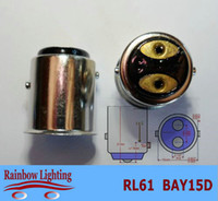 Wholesale BAY15D copper basement for car led light bulbs factory price hot selling RL61