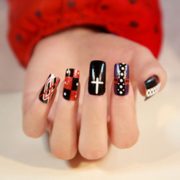 Wholesale new designs fashion nails art stickers Decals DIY decorations foils wraps price hot selling Nail Tools