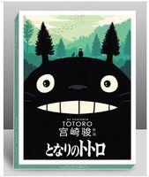 Wholesale vintage Hayao Miyazaki Postcards cartoon sheets set Christmas Card Greeting Card brithday cards Postcard Gift