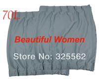 Wholesale New Car Auto L Window Flat Car Curtain Sunshade x cm x18 inch Grey