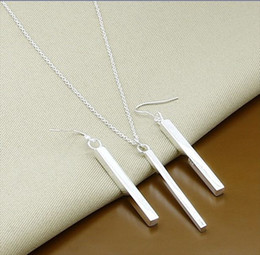 WT209Free shipping 925 silver jewelry sets sterling silver jewelry silver jewelry sets wholesale fashion jewelry Chains