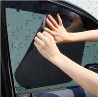 Wholesale New summer car sunscreen Car sunshade electrostatic stickers auto supplies sun block sun shading stickersCan pieces