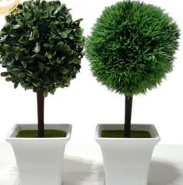 Wholesale Christmas bonsai decoration High simulation plant artificial plant pieces set including the pot