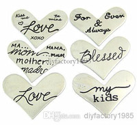 Slides, Sliders origami owl - NEW sales Floating Charm Origami Owl quot Heart quot Window Plate Silver Suitable mm Locket Jewelry pendants