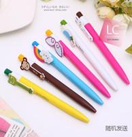 Wholesale cute Kawaii cartoon promotional plastic ball pen ballpen Ballpoint Pen student school office pen