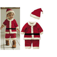 Wholesale Precious Girls Christmas Dress Red White Bowknot Princess Dress Cute Fleece Dress Great Outlook Cotton Material Top Quality