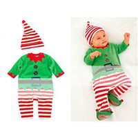 baby clothing fabric - Designer Baby Clothes Cotton Fabric Cute Kids Clothes Set Korean Style Kids Christmas Suit Top Fashion