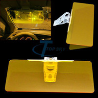 Window Foils & Solar Protection Front Window Solar Protection New Wholesale-New Sun Visor Extension Clip Shield Auto Anti-glare Car Sunglasses Sunshade Adjustable For Driving (SD - 2301) Yellow 6828#