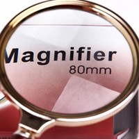 Wholesale S5Q mm Handheld X Magnifier Magnifying Big Glass Lens Loupe Readinge Jwelry AAADVD