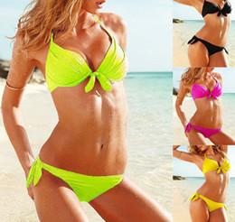 Wholesale CLASSIC swimsuit VS brand discount bikini push up swimwear beachwear the bathing suits for women Sexy bathers Freeshipping