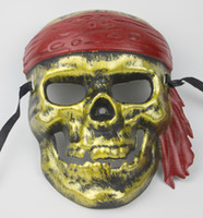 Wholesale BX00019 Creative terror pirate skull mask party mask masquerade mask stage show props