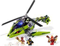 Wholesale Bela plastic Bricks Building Blocks Sets Phantom Ninja series L9443 minifigures Rattlecopter Chariots children toys