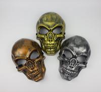 Wholesale BX00019 Halloween Skeleton Warrior Mask full face protection mask of terror