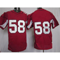 Wholesale Dary Washington Red American Football Jerseys New Style Cheap Football Jerseys Brand Mens Elite Football Kits Name Number Sewn On