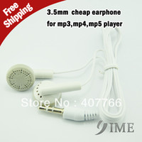 Cheap In-Ear earphone for iphone 3g Best IME 3.5mm earphone for mp3 player