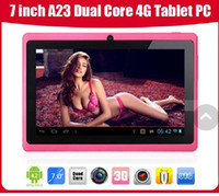 Wholesale Hot Sell inch A23 Q88 Pro Android tablet PC capacitive screen dual core dual camera GB WIFI OTG Tablet PC