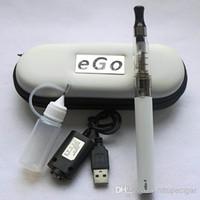 Single Multi 650mAh,900mAh,1100mAh CE4 eGo Starter Kit E-Cig Electronic Cigarette Zipper Case package Single Kit 650mah 900mah 1100mah CE4 Atomizer Colorful Mix Order DHL Free