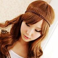 Headbands   Manufacturer Sale Cheap Star Bohemian Braids Hair Wig Bandwidth Braids Hair Bands Headband Hair Accessories Approved