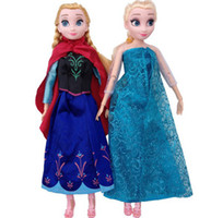 Wholesale Hot Sell Frozen Princess Inch Frozen Doll Frozen Elsa and Anna Frozen Toys Good Girl Gift Girl Doll Joint Moveable