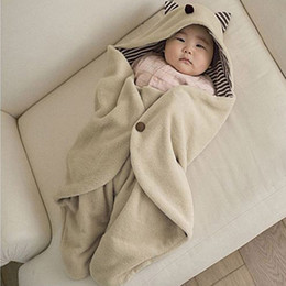 Wholesale New Baby Stroller Swaddling Blanket in Sleeping bag sack Newborn Infant Swaddle Gifts H11689