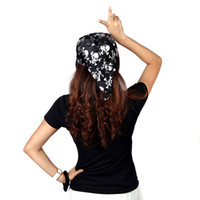 Wholesale Headband Dress Up Costume Masquerade Cosplay Funny Circle Skull Round Pirate Hat Cap Halloween Party Props H11822
