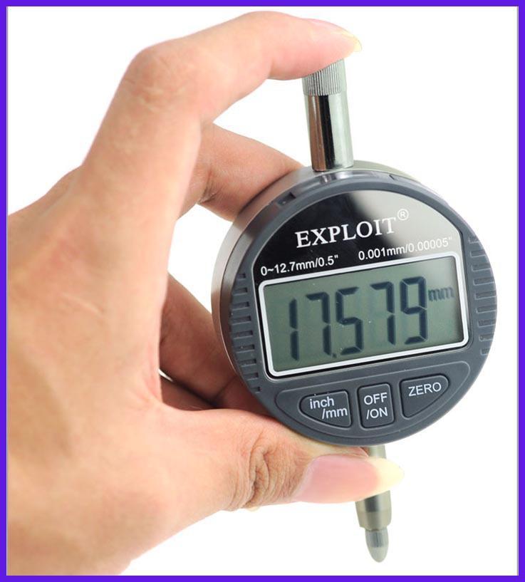 digital dial indicator. exploit 0.001mm aluminum electronic digital micrometer dial gauge indicator measuring tools online with $87.52/piece on