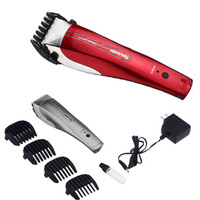 clippers - NEW Electric Digital Professional Rechargeable Hair Clipper Titanium Removable Head Trimmer H11378