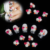 nail charms - 40Pcs DIY Metal D Nail Art Tip Stickers Decoration Mix Color Pattern Fashion Luxury Charm Jewelry Tools H11933