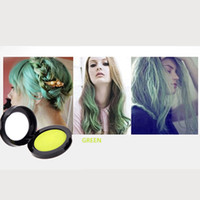 Wholesale 2014 NEW Colorful Salon Grade NON Toxic Temporary Hair Chalk Hair Tint Hair Color Green H11399