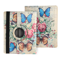 Wholesale 360 Rotating PU Leather Folio Case Cover Stand for Apple iPad