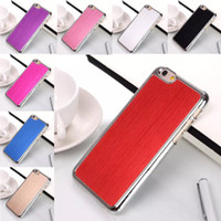 aluminum details - Details about For Apple iPhone Brushed Aluminum Metal CLEAR Case Cover Shock Proof NEW