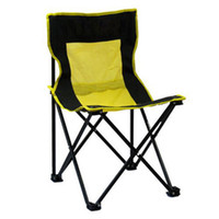 Camping Chairs Beach Chair Outdoor Furniture Wholesale-Outdoor stack Portable Foldable Stool Fishing Thickened Beach Camping Chair 21105